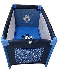 Trucare Travel Cot P-500 Mickey (Blue)
