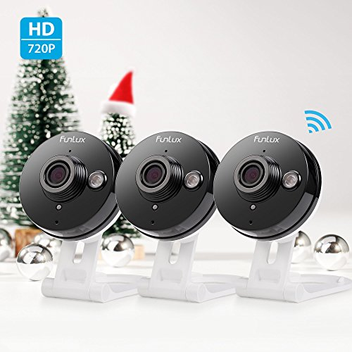 Funlux-720p-HD-Wireless-Smart-Home-Day-Night-Security-Surveillance-Camera-3-Pack