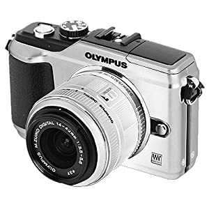Olympus PEN E-PL2 12.3 MP CMOS Micro Four Thirds Interchangeable Lens Digital Camera with 14-42mm Lens (Silver)