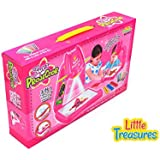 Pink Projector Painting Set From Little Treasures High Tech Learning Set Including A Table Lamp, Projection And...
