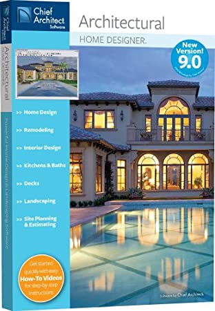 Chief Architect Architectural Home Designer 9.0 [OLD VERSION]