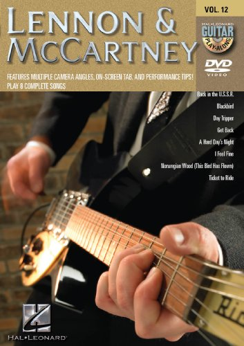Cover art for  Lennon & McCartney - Guitar Play-Along DVD Vol 12