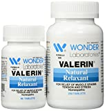 LEG CRAMPS, MUSCLE CRAMPS Natural Relaxant Valerin® - 340 Capsules #6062