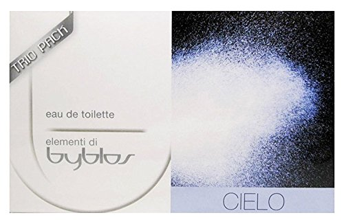 Byblos Cielo Trio Pack Eau de Toilette - Confezione da 3 x 15 ml
