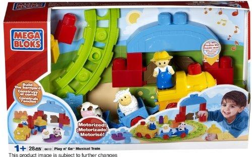 Mega Brands 130893 Play&aposn Go Musical Train