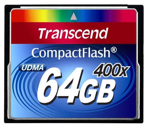 【Amazonの商品情報へ】Transcend 400倍速CFカード 64GB 永久保証 TS64GCF400