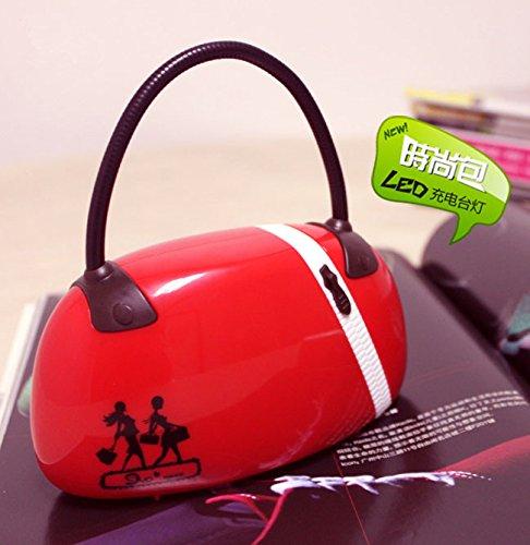 Kreative-Mode-Handtaschen-LED-wiederaufladbare-Lampe-Buch-leichte-faltbare-Schreibtisch-Lampe-Licht-Rot