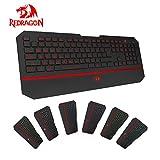 Redragon Karura K502 USB Gaming Keyboard, 7 Switchable Backlight Colors, 104+ Keys