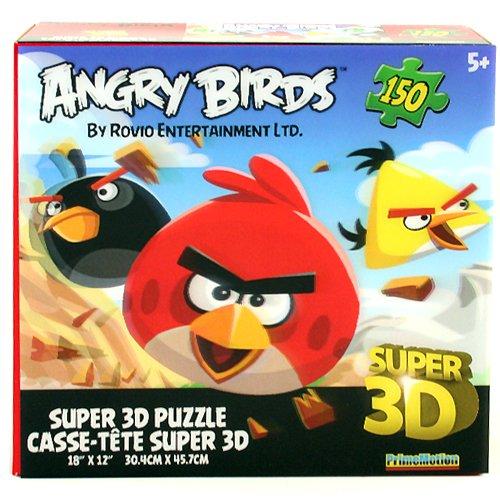 Imagen principal de Angry Birds Super 3D 150-Piece Puzzle