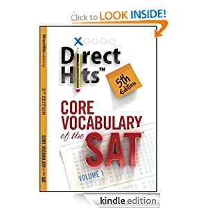 Direct Hits Core Vocabulary of the SAT 5th Edition (2013) $0.00