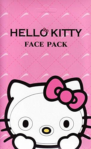 ハローキティ なりきりフェイスパック サクラの香り キティになれるフェイスパック