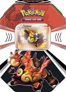 Pokemon Black White Card Game Fall 2011 Evolved Battle Action Tin Emboar