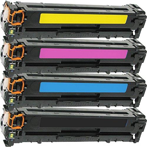 Cool Toner CB540A CB541A CB542A CB543A kompatibel für HP Color LaserJet