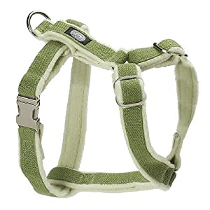 Planet Dog Cozy Hemp Adjustable Harness Apple Green Large