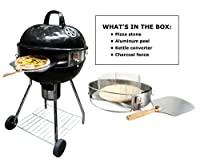 Pizzacraft PC7003 Pizzaque Super Deluxe Kettle Grill Pizza Kit by Pizzacraft