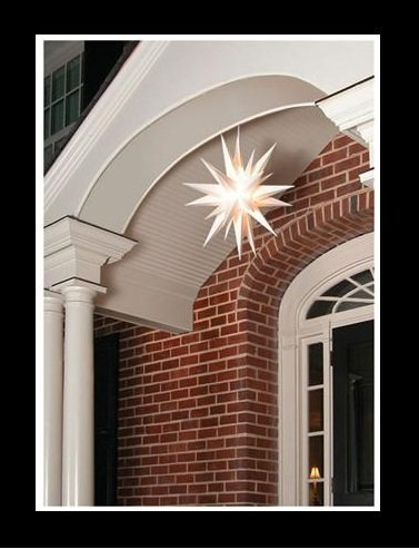 "21"" CHRISTMAS LIGHTED MORAVIAN STAR INDOOR/OUTDOOR DECORATION"