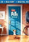 Secret Life of Pets (3D Blu-ray + Blu...