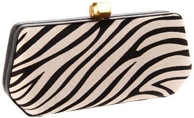 Rebecca Minkoff Fling Clutch, Zebra, One Size