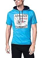 Nebulus Camiseta Manga Corta Waves (Azul)
