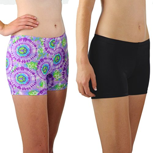 Tuga Spandex Shorts 2-Pack, 3