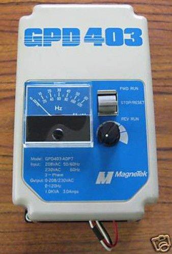 Magnetek Gpd403-A0P7-00 Gpd-403 Vs Drive 0.75Hp/3.0Amps