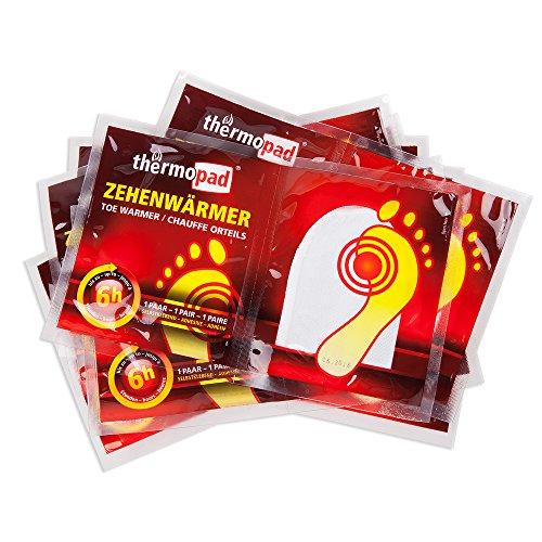 Thermopad Zehenwärmer, 10 Paar, 78020