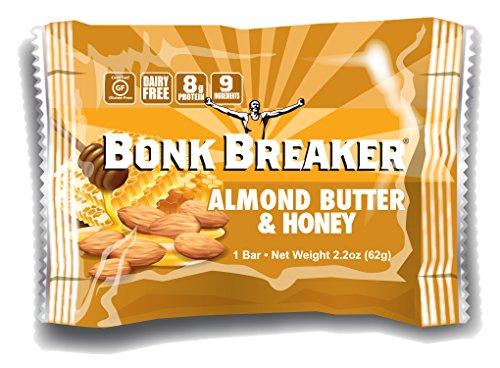 BONK BREAKER - Energy bar - crema di mandorle e miele