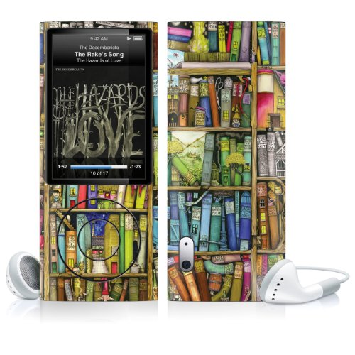 Skin für Apple iPod Nano (gen. 5) - Bücherregal