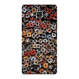Square Nuts Back Case Cover for Samsung Galaxy A5