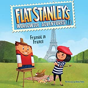 Framed in France: Flat Stanley's Worldwide Adventures, Book 11 | [Jeff Brown]