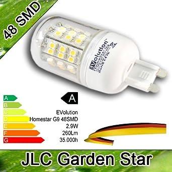 G9 48 SMD LED Ampoule Spot 230V 2,9W 260 Lumen