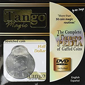 MMS Stretched Coin - Half Dollar (with DVD) by Tango - Trick (D0096)