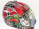 2014 Minnesota Wild Team Signed Goalie Mask Parise Suter Koivu Absolutely Loaded - Autographed NHL Helmets and Masks