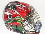 2014 Minnesota Wild Team Signed Goalie Mask Parise Suter Koivu Absolutely Loaded - Autographed NHL Helmets and Masks