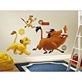 Roommates The Lion King Giant Wall Decals, Multi Color