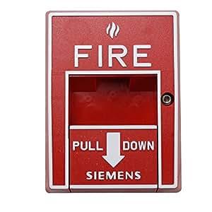Siemens Hms-S Single-Action Addressable Fire Alarm Manual Pull Station