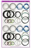 (2回練習分)平成28年度 第一種電気工事士技能試験練習材料 全10問分の電線セット