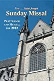 9780899421476: Saint Joseph Sunday Missal: Prayerbook and Hymnal