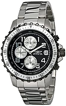buy Invicta Men'S 6000 Pilot Collection Stainless Steel Chronograph Watch