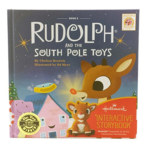 Hallmark StoryBuddy Interactive Book Rudolph And The South Pole Toys Book 2 (Rudolph Ii compare prices)