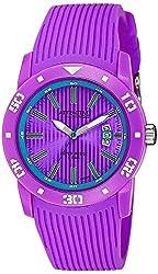 Q&Q Analog Purple Dial unisexs Watch - DB02J010Y