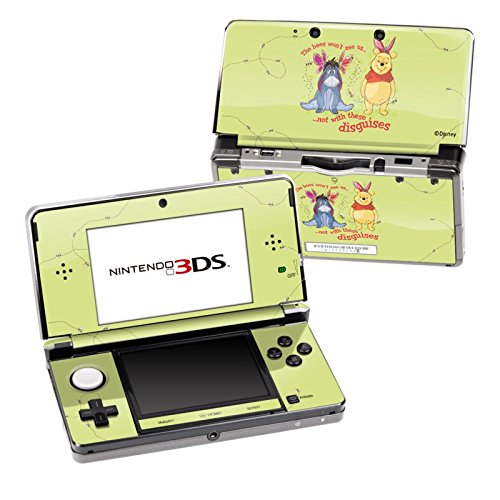 Disguises Design Decorative Protector Skin Decal Sticker for Nintendo 3DS Portable Game Device z33 light design protector skin decal sticker for ps3 playstation 3 body console
