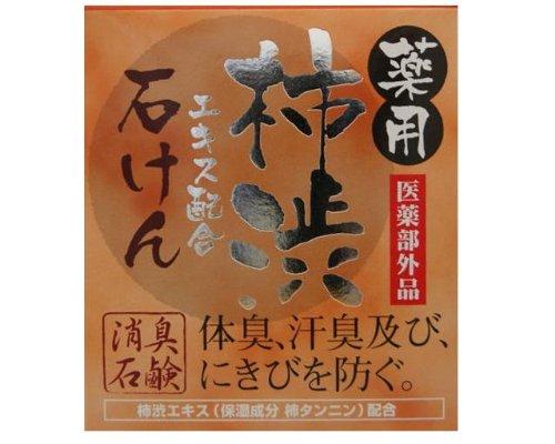 薬用柿渋 石けん 100g 【医薬部外品】