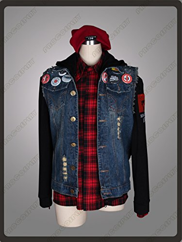 Great Deal! (Procosplay)inFAMOUS Second Son cosplay costume mp001648