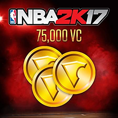 NBA 2K17: 75,000 VC - PS4 [Digital Code]
