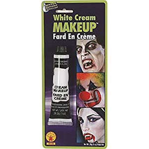 1oz Tube White Cream Makeup