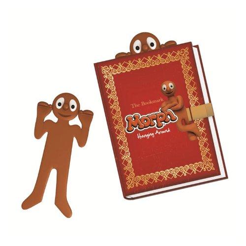 Morph Bookmark Fun Novelty Rubber Gift Cute Bookworm