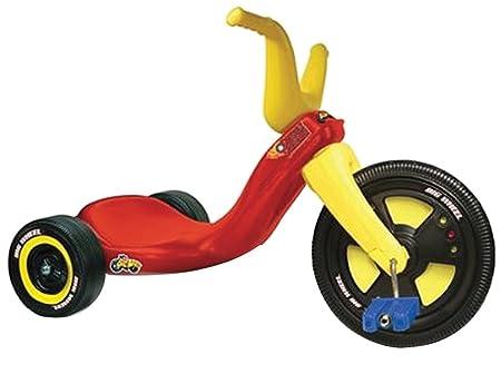 Big Wheel - ODAR48 - Vélo et Véhicule pour Enfant - Tricycle Big Wheel Side Walk Screamer Boys - 11 Pouces
