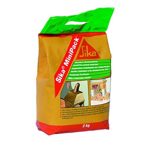 Sika minipack mortero refractario bolsa 2kg - Mortero autonivelante precio ...