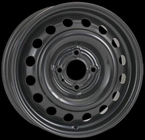 CERCHI-IN-FERRO-ALCAR-AC6775-NISSAN-Note-55jx15-4x100-60-ET-45-Colore-Black-Nero